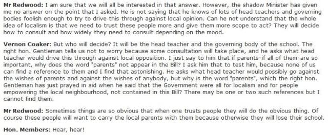 How parents were excluded from 2010 Academies Act - deliberate or naive you decide